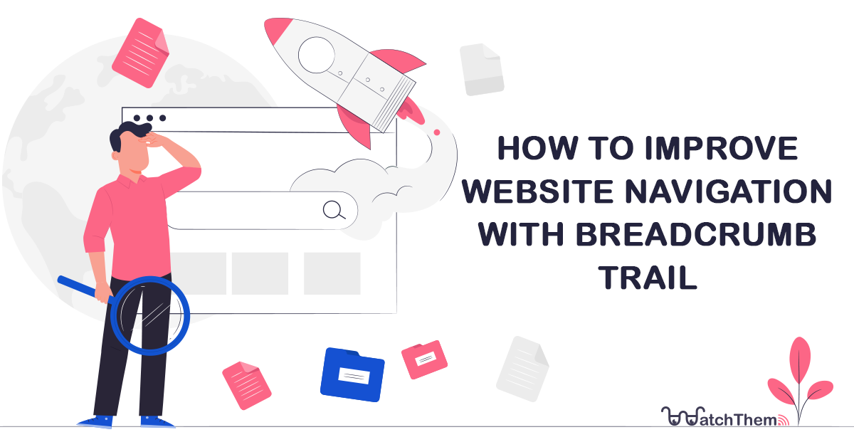 how to improve website navigation with breadcrumb trail