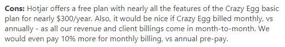 billing term disadvantage