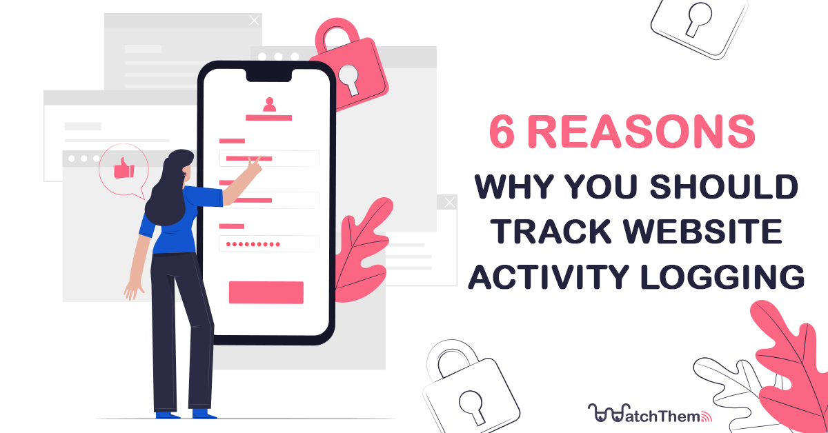 website activity logging