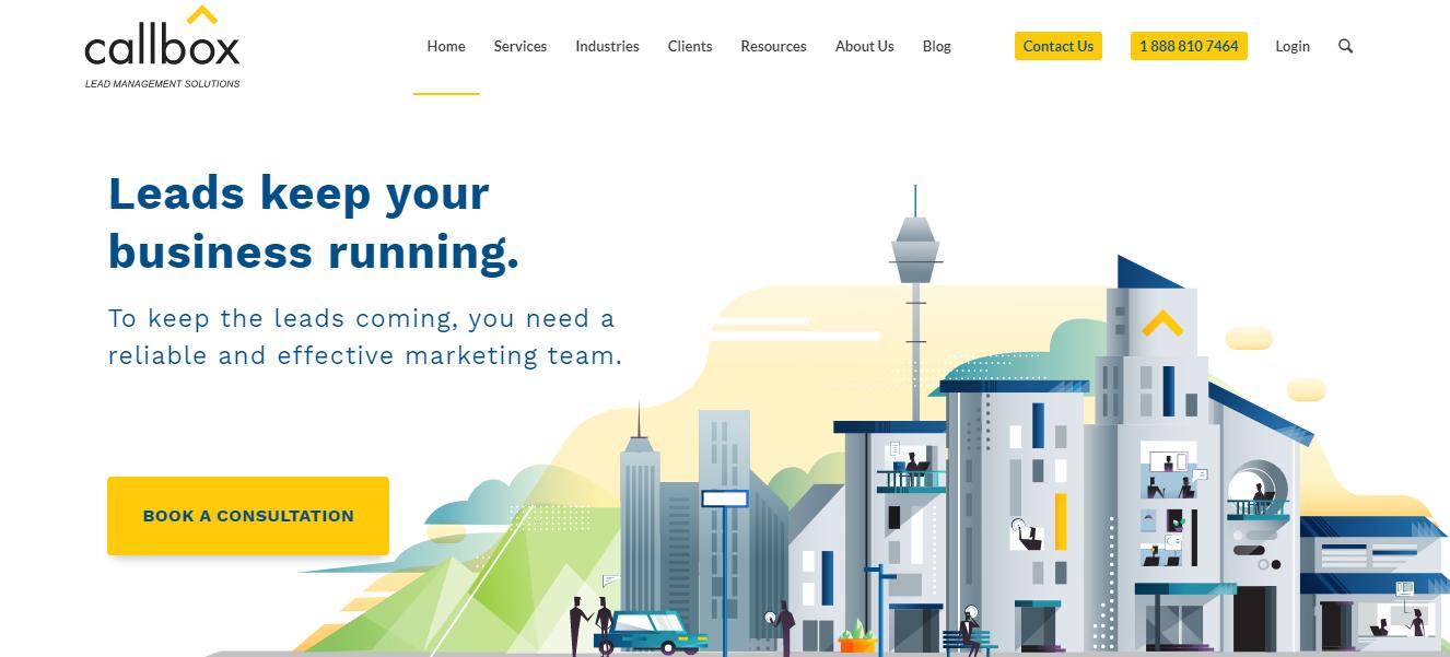 callbox website
