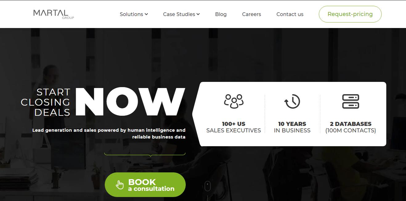 martalgroup website